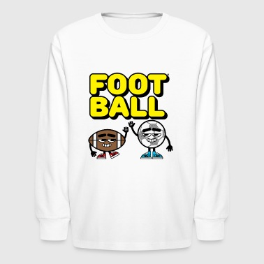 Football Friends - Kids' Long Sleeve T-Shirt