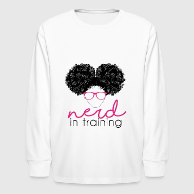 Nerd In Training - Kids' Long Sleeve T-Shirt