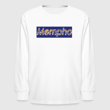 Mempho Supreme Tiger Banner - Kids' Long Sleeve T-Shirt