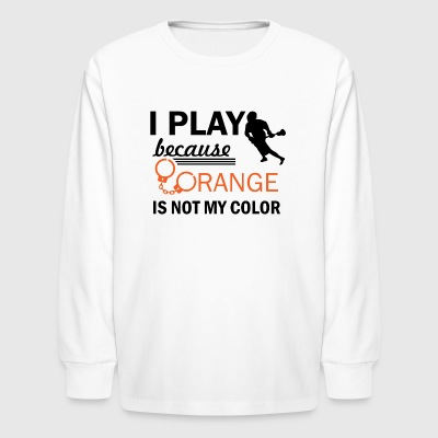 lacrosse design - Kids' Long Sleeve T-Shirt