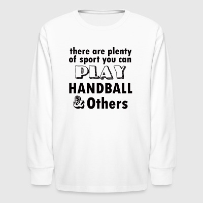 HANDBALL DESIGN - Kids' Long Sleeve T-Shirt