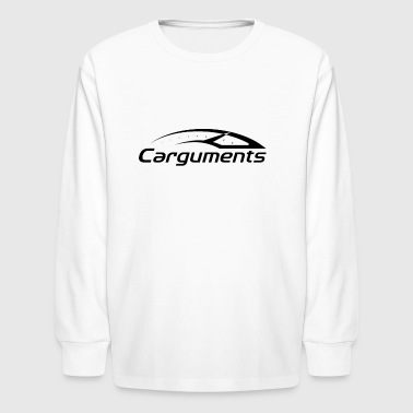 CARGUMENTS Black and White - Kids' Long Sleeve T-Shirt