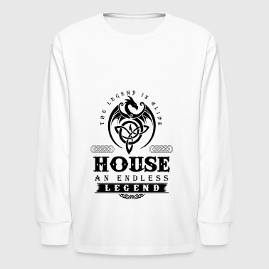 HOUSE - Kids' Long Sleeve T-Shirt
