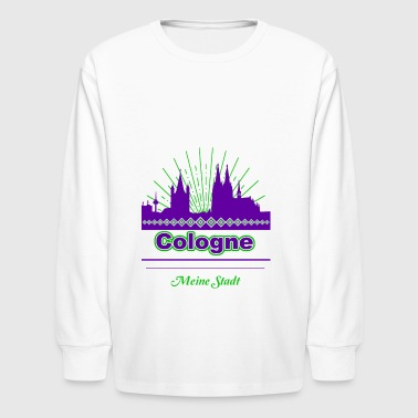Cologne - Kids' Long Sleeve T-Shirt