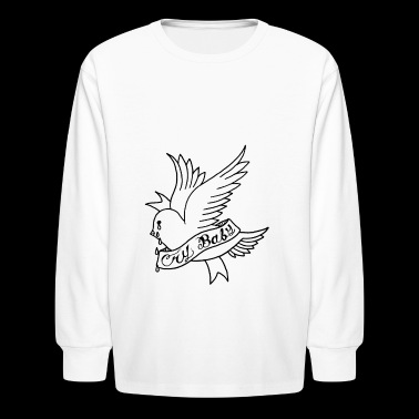 RIP Lil Peep Crybaby - Kids' Long Sleeve T-Shirt