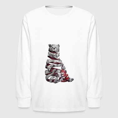 Bear twirl - Kids' Long Sleeve T-Shirt