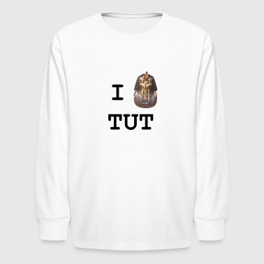 I Heart Tut - Kids' Long Sleeve T-Shirt