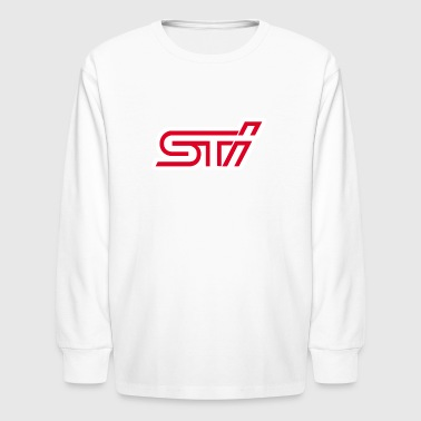 SUBARU IMPREZA STI - Kids' Long Sleeve T-Shirt