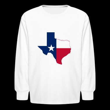 The Lone Star State - Kids' Long Sleeve T-Shirt