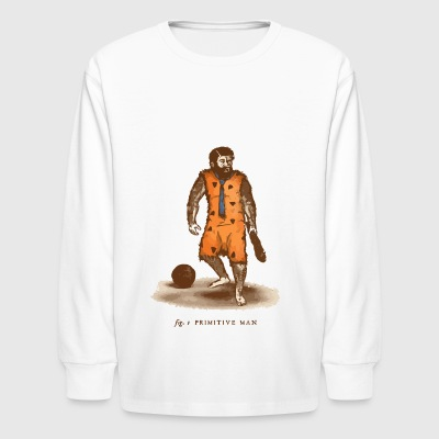 Primitive Man - Kids' Long Sleeve T-Shirt