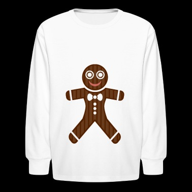 gingerbread man - Kids' Long Sleeve T-Shirt