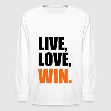 2541614 14565776 win - Kids' Long Sleeve T-Shirt