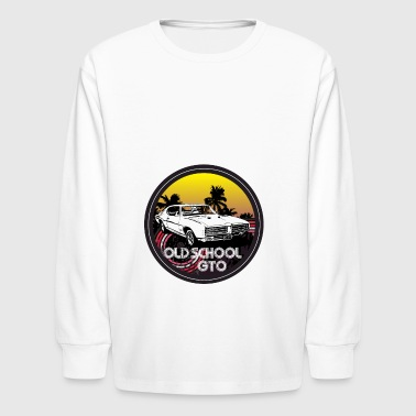Old School GTO - Kids' Long Sleeve T-Shirt