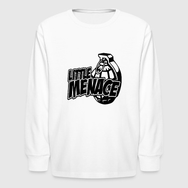 Bomb Menace - Kids' Long Sleeve T-Shirt