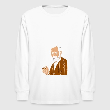 Your Mom Freud - Kids' Long Sleeve T-Shirt
