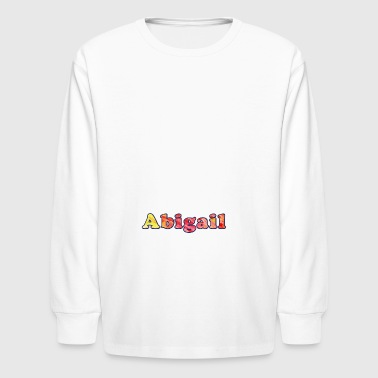 Abigail - Kids' Long Sleeve T-Shirt
