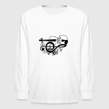 Viola Shirt - Kids' Long Sleeve T-Shirt