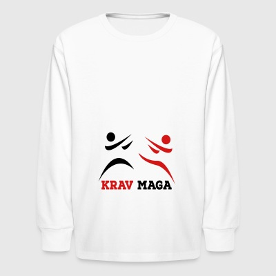krav maga - Kids' Long Sleeve T-Shirt