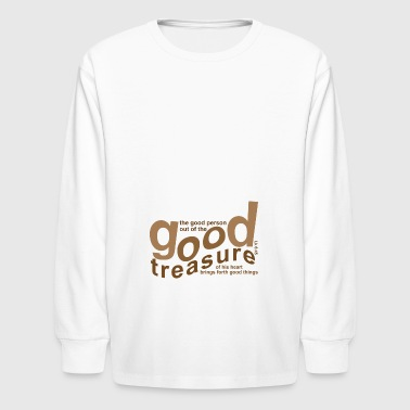 GOOD TREASURE - Kids' Long Sleeve T-Shirt