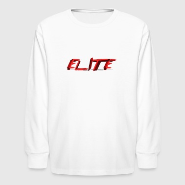 Elite merch - Kids' Long Sleeve T-Shirt