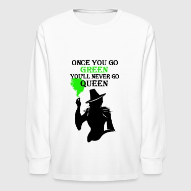 Wicked Always Wins! Zelena - Kids' Long Sleeve T-Shirt