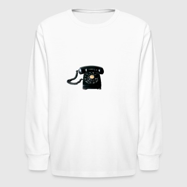 phone - Kids' Long Sleeve T-Shirt