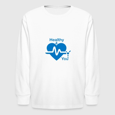 Healthy Life - Kids' Long Sleeve T-Shirt