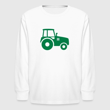 tractor - Kids' Long Sleeve T-Shirt