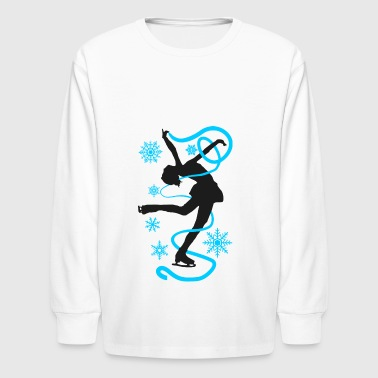 Figure skating and ice figure dance is an artistry - Kids' Long Sleeve T-Shirt