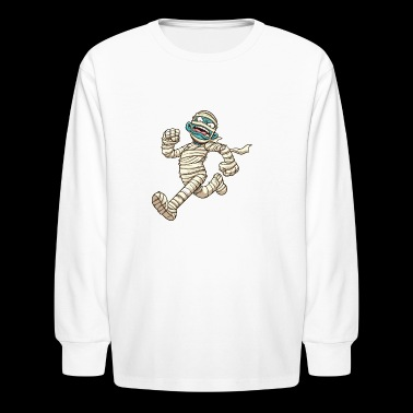 running mummy - Kids' Long Sleeve T-Shirt