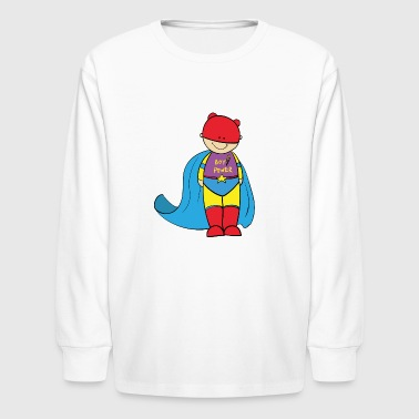 superboy - Kids' Long Sleeve T-Shirt