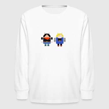 ANDROIDS - Kids' Long Sleeve T-Shirt
