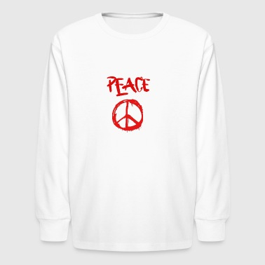 Peace1 - Kids' Long Sleeve T-Shirt