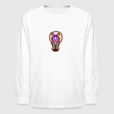 Neko the Traveling Merchant - Kids' Long Sleeve T-Shirt