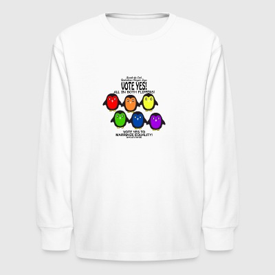Vote Yes Marriage Equality - Kids' Long Sleeve T-Shirt