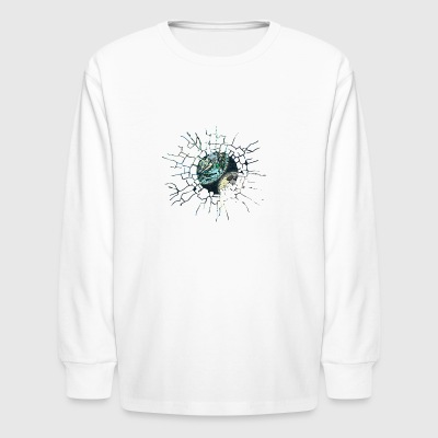 ABSTRACT SOLAR SYSTEM - Kids' Long Sleeve T-Shirt