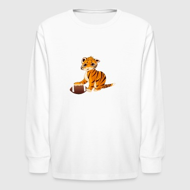 cute tiger - Kids' Long Sleeve T-Shirt