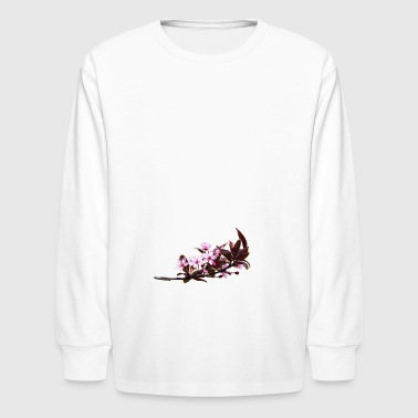 Flowers, blossoms, branch - Kids' Long Sleeve T-Shirt