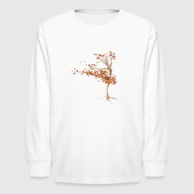 Autumn Dance - Kids' Long Sleeve T-Shirt