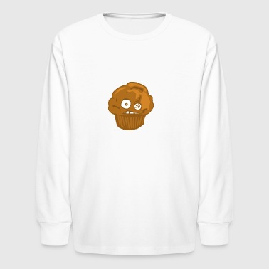 Crack Muffin - Kids' Long Sleeve T-Shirt