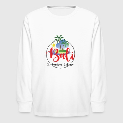 Bali Holidays - Kids' Long Sleeve T-Shirt