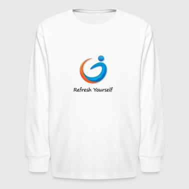 Refresh Yourself - Kids' Long Sleeve T-Shirt