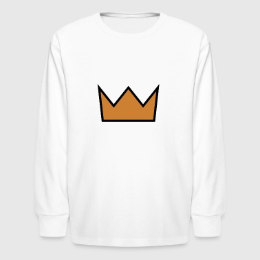 the crown - Kids' Long Sleeve T-Shirt