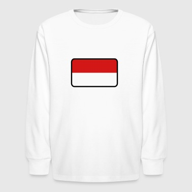 National Flag Of Indonesia - Kids' Long Sleeve T-Shirt