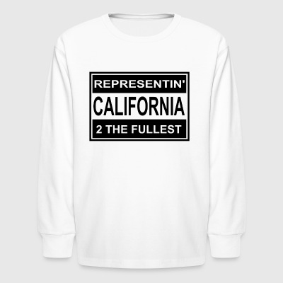 REP_CALI - Kids' Long Sleeve T-Shirt