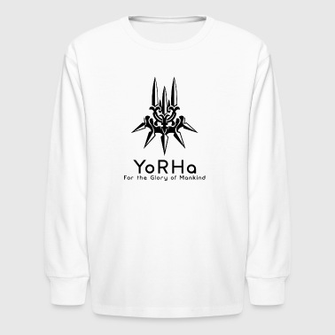 yorha 2 - Kids' Long Sleeve T-Shirt