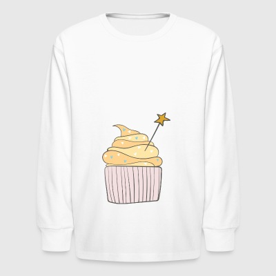cupcake - Kids' Long Sleeve T-Shirt