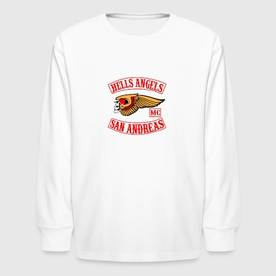 Hell angels - Kids' Long Sleeve T-Shirt