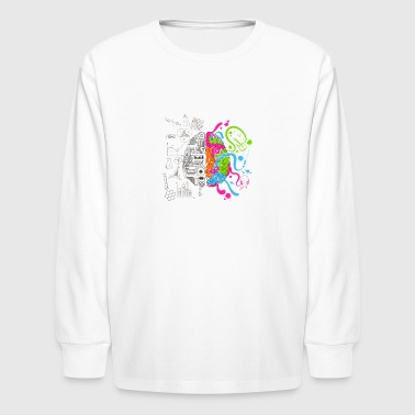 Think More - Kids' Long Sleeve T-Shirt