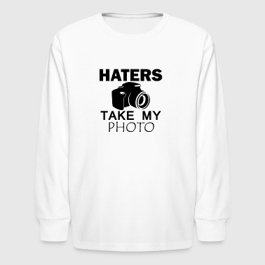 haters designs - Kids' Long Sleeve T-Shirt